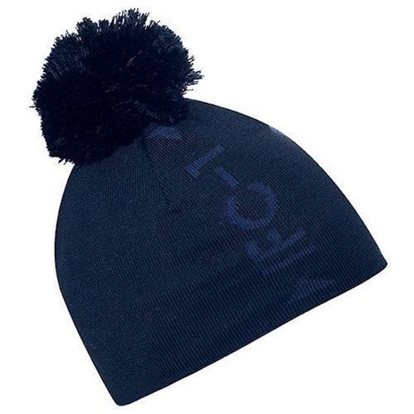 Picture of Galvin Green Mens Lennon Bobble Hat - Blue