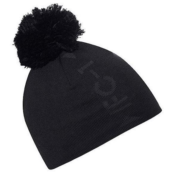 Picture of Galvin Green Mens Lennon Bobble Hat - Black