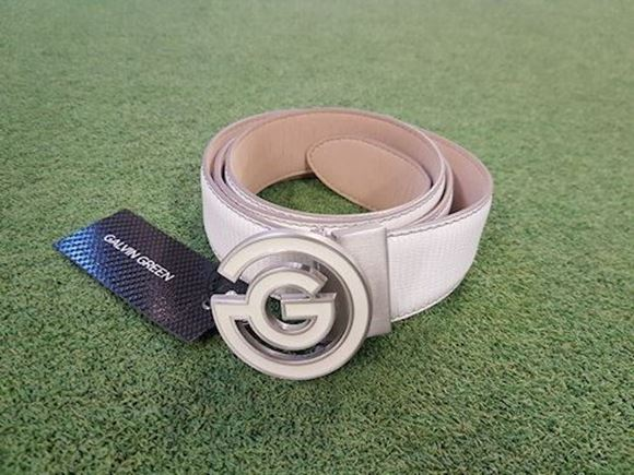 Picture of Galvin Green Wesley Belt - White