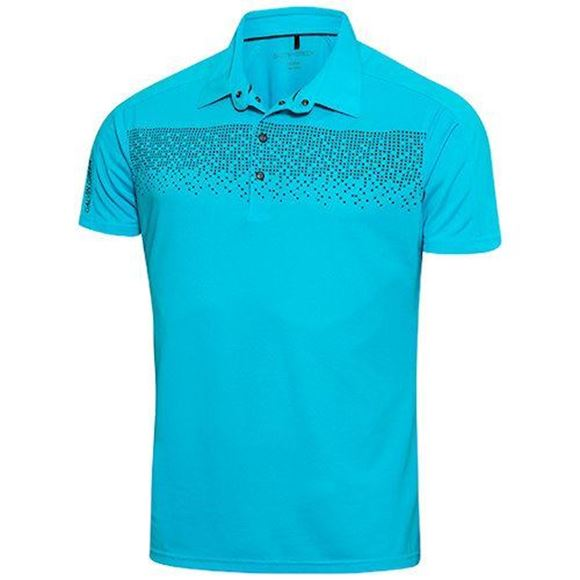 Picture of Galvin Green Mens Marcel Golf Shirt - Blue