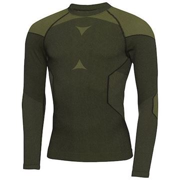 Picture of Galvin Green Mens Edgar Thermal Top - Black/Yellow