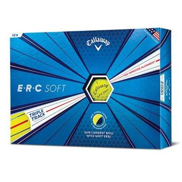 Picture of Callaway ERC Soft Golf Balls - Yellow
