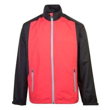 Picture of ProQuip Mens PX1 PAR Waterproof Jacket - Red/Black