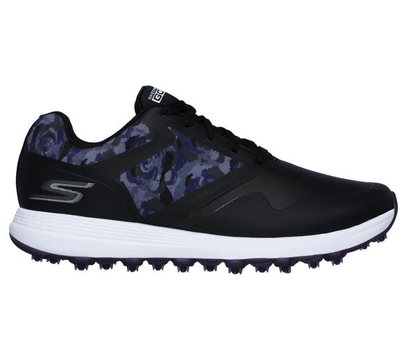 Picture of Skechers Ladies Go Golf Max Draw Shoes - Black/Purple