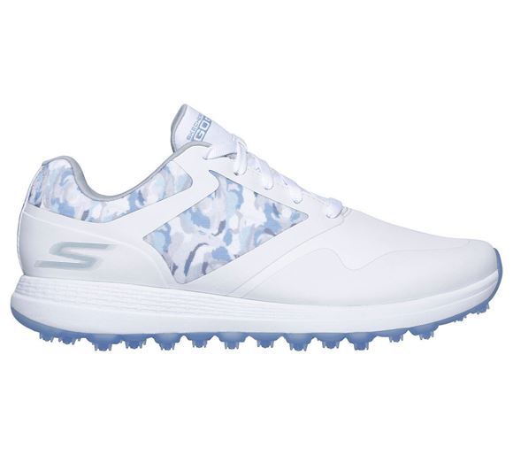 Picture of Skechers Ladies Go Golf Max Draw Shoes - White/Blue