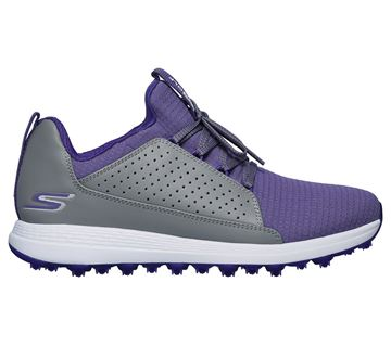 Picture of Skechers Ladies Go Golf Max Mojo Shoes - Grey/Purple