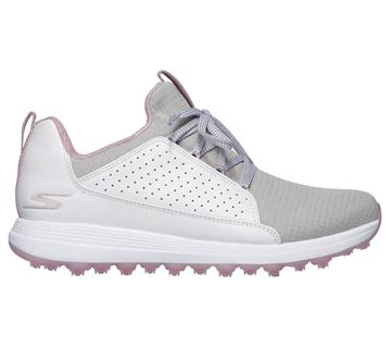 Picture of Skechers Ladies Go Golf Max Mojo Shoes - White/Grey/Pink
