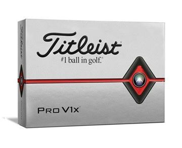 Picture of Titleist Pro V1x 2019 Model Golf Balls (4 FOR 3 SPECIAL OFFER)