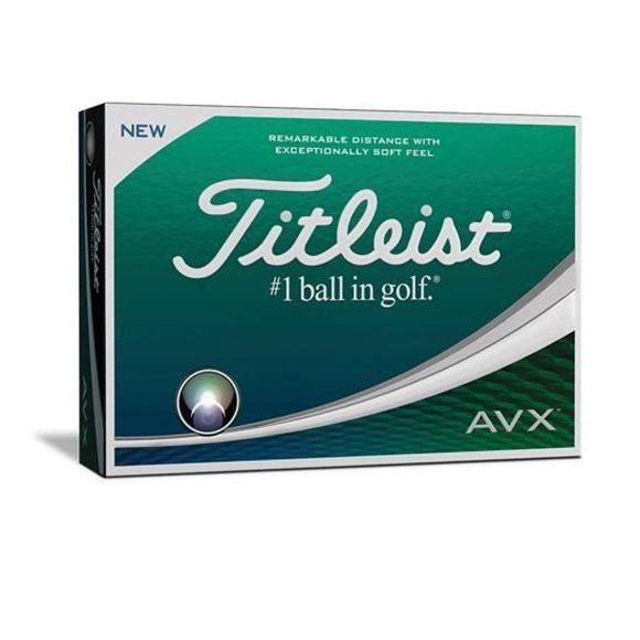 Picture of Titleist  AVX Golf Balls (4 FOR 3 SPECIAL OFFER)