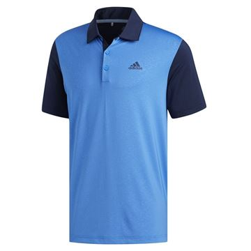 Picture of Adidas Mens Ultimate 365 Camo Embossed Polo Shirt - DQ2359