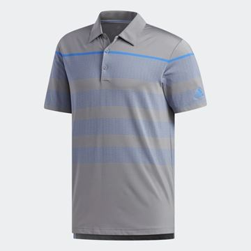 Picture of Adidas Mens Ultimate 365 Dash Stripe Polo Shirt - DQ2364
