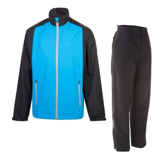 Picture of ProQuip Mens PX1 PAR Waterproof Suit - Blue/Black