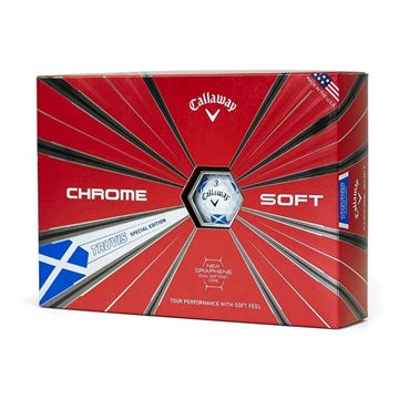 Picture of Callaway Chrome Soft Truvis Golf Balls 2018 - Scotland Flag