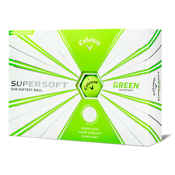 Picture of Callaway Supersoft Golf Balls - Matte Finish Green