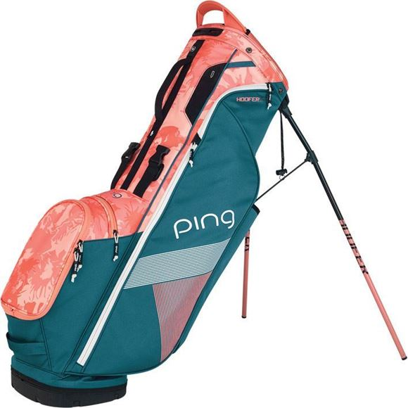 Picture of Ping Hoofer Lite Carry Bag 2019 - Storm/Coral Bloom