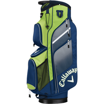 Picture of Callaway Chev Org 2018 Cart Bag - Navy/Green