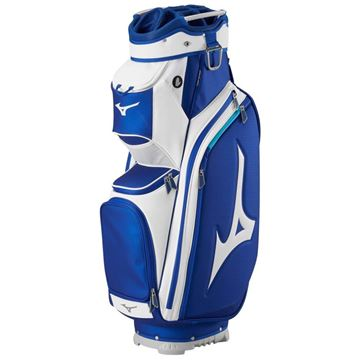 Picture of Mizuno Pro Cart Bag - Blue/White