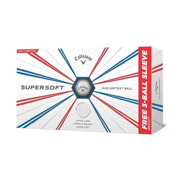 Picture of Callaway Supersoft Golf Balls - White 2019 Model (15 Ball Pack)