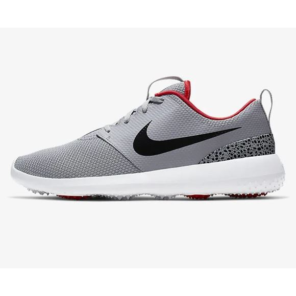 Picture of Nike Roshe G Golf Shoes - Grey/Red