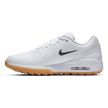 Picture of Nike Air Max 1 G Golf Shoes - White