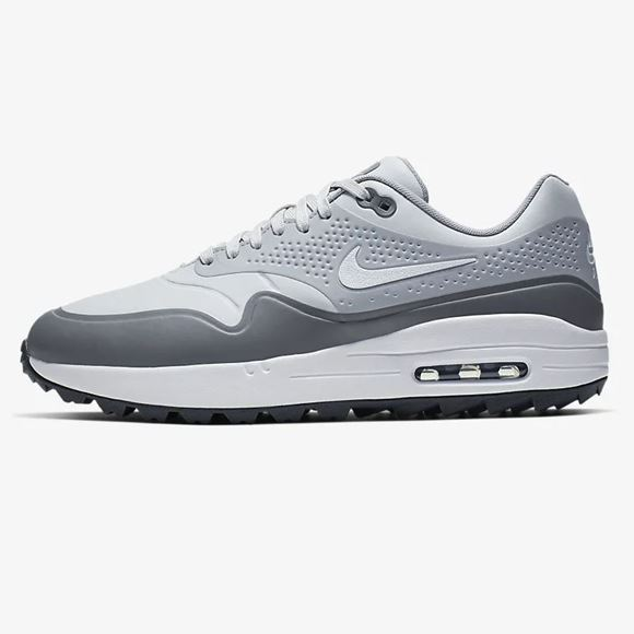 Picture of Nike Air Max 1 G Golf Shoes - Grey/White