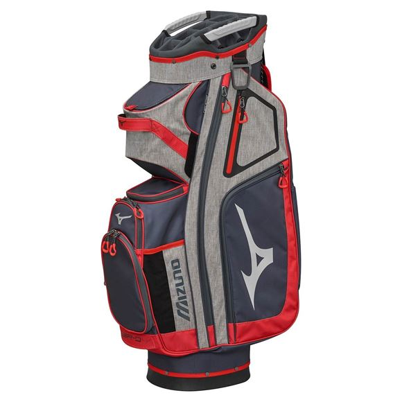 Picture of Mizuno BR-D4 Cart Bag - Grey/Red
