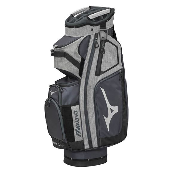 Picture of Mizuno BR-D4 Cart Bag - Grey/Black