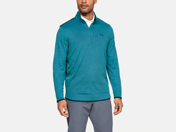 Picture of Under Armour Mens Sweater Fleece 1/2 Zip 1345464-417