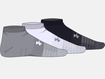 Picture of Under Armour Mens UA Heatgear Locut Socks 1346753-035