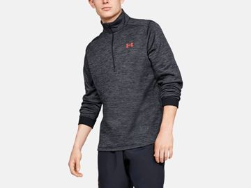 Picture of Under Armour Mens Armour Fleece 1/2 Zip Pullover 1320745-002