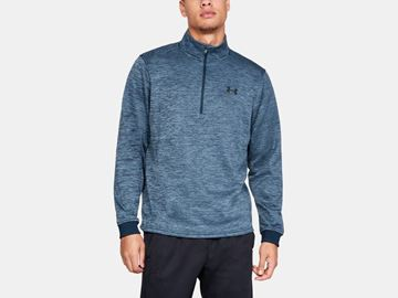 Picture of Under Armour Mens Armour Fleece 1/2 Zip Pullover 1320745-408