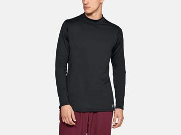 Picture of Under Armour Mens UA CG Armour Mock Fitted 1320805-001