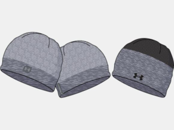 Picture of Under Armour Mens Reversible Golf Beanie 1343186-011