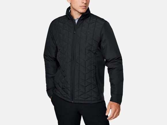 Picture of Under Armour Mens CG Reactor Golf Hybrid Jacket 1349982-001