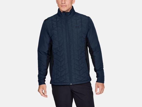 Picture of Under Armour Mens CG Reactor Golf Hybrid Jacket 1349982-408