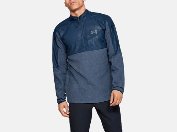 Picture of Under Armour Mens CGI 1/2 Zip 1345315-408