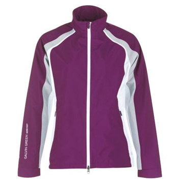 Picture of Galvin Green Ladies Amber Waterproof Jacket - Violet/White/Steel