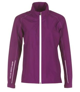Picture of Galvin Green Ladies Angela Waterproof Jacket - Violet/White
