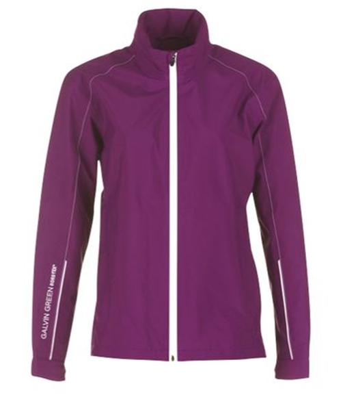 Picture of Galvin Green Ladies Angela Waterproof Jacket - Violet/White