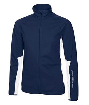 Picture of Galvin Green Ladies Brigitte Windstopper - Navy/White
