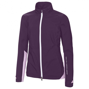 Picture of Galvin Green Ladies Aideen Waterproof Jacket - Wineberry/Heather