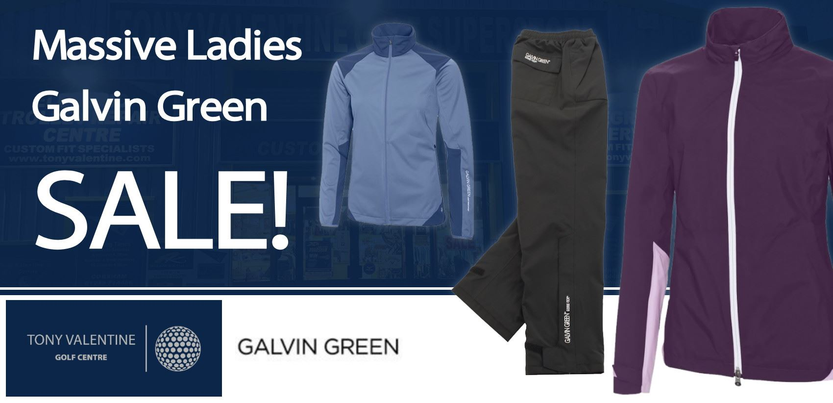 Massive Galvin Green Ladies Sale!