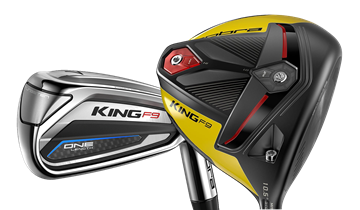 Picture of Cobra King F9 Speedback ONE Length Irons &  F9 Speedback Driver Package (8 Clubs)