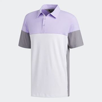 Picture of Adidas Mens adiPure Tech Segmented Polo Shirt - FJ9788