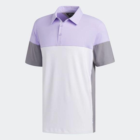 Picture of Adidas Mens adiPure Tech Segmented Polo Shirt - FJ9788