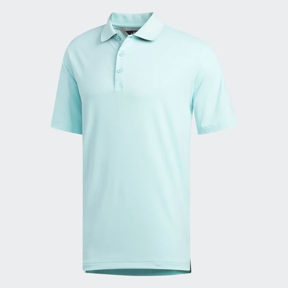 Picture of Adidas Mens adiPure Tech Solid Polo Shirt - ED7324