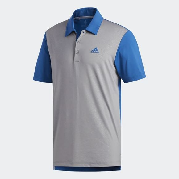 Picture of Adidas Mens Ultimate 365 Camo Embossed Polo Shirt - DQ2361