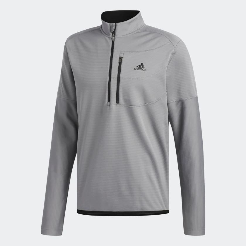 Adidas Mens Gridded 14 Zip Pullover CY9366