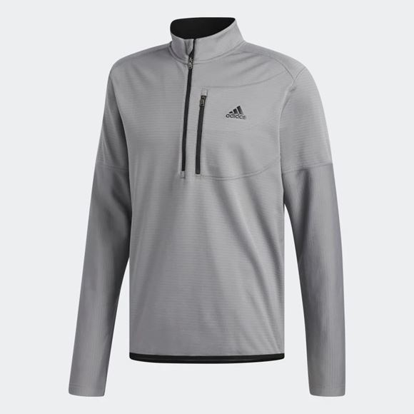 Picture of Adidas Mens Gridded 1/4 Zip Pullover - CY9366