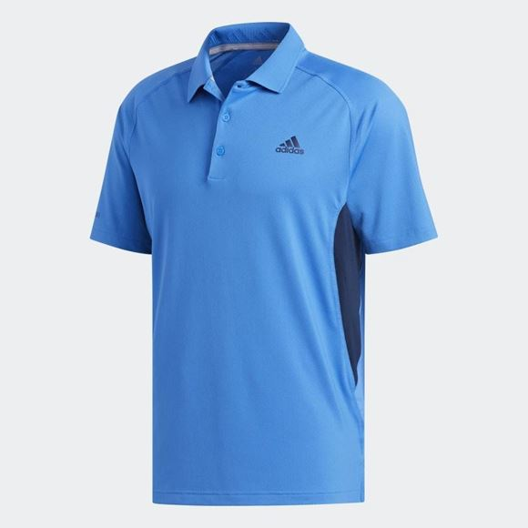 Picture of Adidas Mens Ultimate 365 Solid Polo Shirt - DQ2386